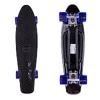 "Penny Board Candy 22"" Black/Tr.Purple"