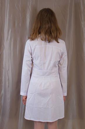 Медицинский качественный женский белый халат, ткань котон., фото 3