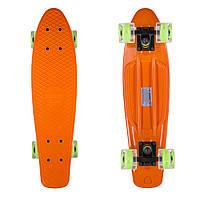"Penny Board Candy 22"" Orange/LED"