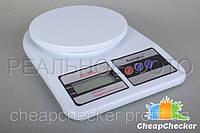 Електронні Кухонні Ваги SF 400 + Батарейки, фото 1