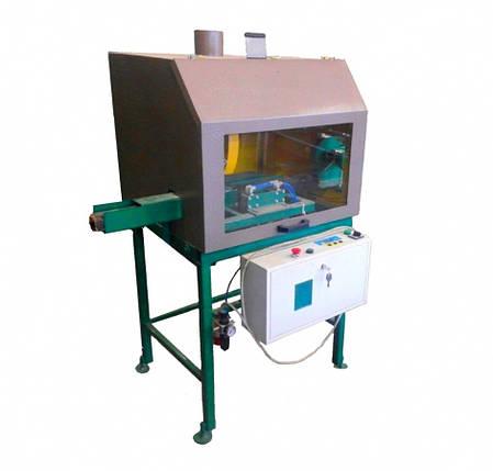 Торцовочный станок автоматический для резки топливных брикетов (Pini-kay)  ЦПА 63-63, фото 2