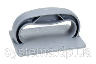 3M™09330 Twist-Lok™ 961 Pad Holder Light Grey - Шлифок для листов скотч-брайт, 63х89х121 мм