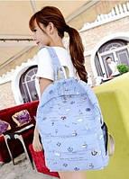 Красивый школьный рюкзак