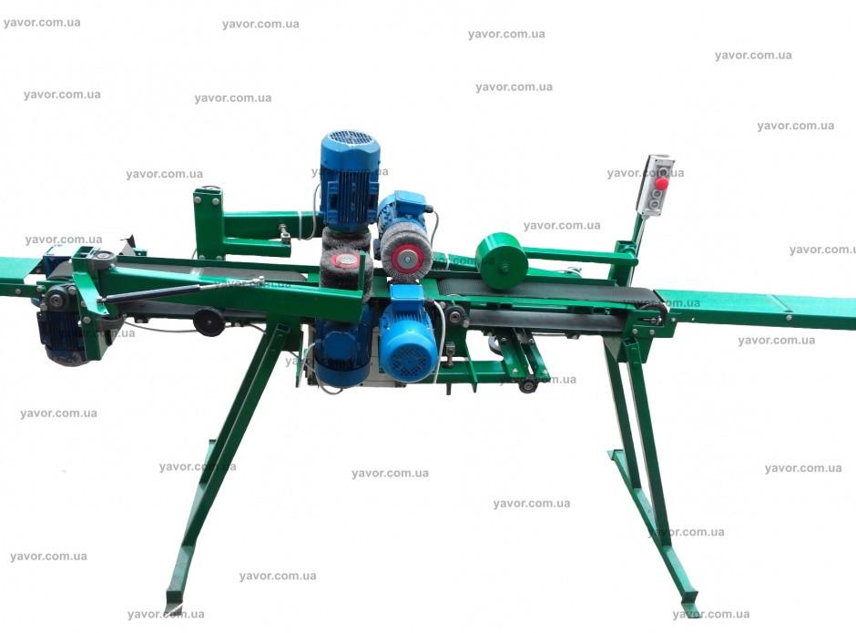 Cтанок для очистки труб от ржавчины и шлифования деревянных изделий  ШлК4-100/100