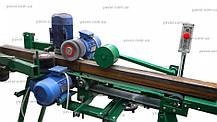 Cтанок для очистки труб от ржавчины и шлифования деревянных изделий  ШлК4-100/100, фото 3