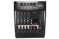 Аудио Микшер Mixer BT 5200 D Микшерный Пульт 5 Каналов 5ch, фото 1