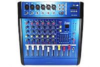 Аудио Микшер Mixer BT 6200 D Микшерный Пульт 7ch 7 каналов