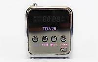 Портативная MP3 Колонка SPS TD V 26 USB FM, фото 1