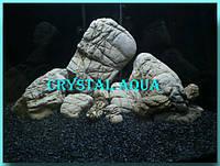Аквариумный грунт Базальт черный 3-5 мм