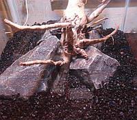 Аквариумный грунт Базальт черный 8-12 мм