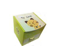 Шкатулка для украшений Котик 2-ярусная купить в Украине, фото 1