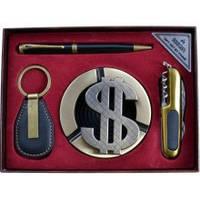 Подарочный набор Moongrass AL733 Пепельница, нож, ручка, брелок