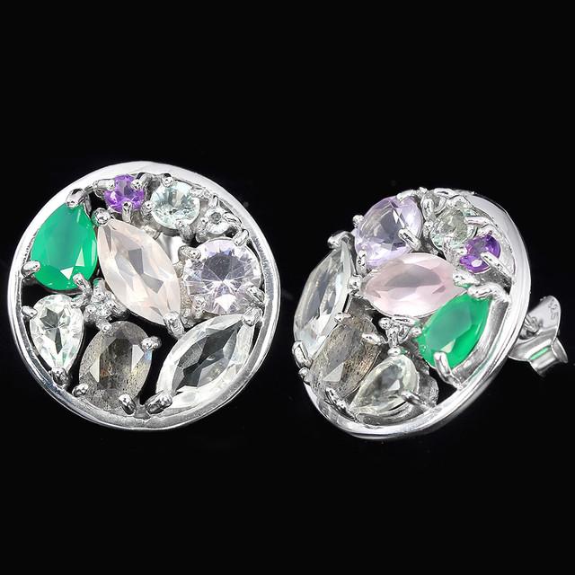 Новые изделия из серебра и натуральных камней