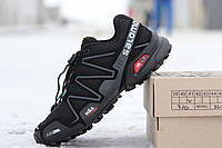 Кроссовки Salomon Speedcross 3   черны с серым