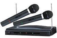 Радиосистема WR 306 Микрофон 2 шт Радиомикрофон am, фото 1