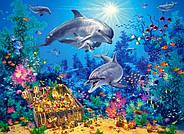 """Пазлы 300 """"Семья дельфинов"""", фото 2"""