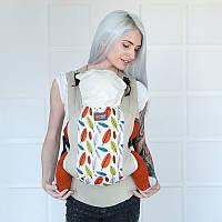 Эрго рюкзак Love & Carry DLIGHT — ЛИСТЬЯ бесплатная доставка новой почтой, фото 1
