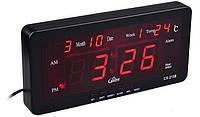 Настільні Електронні Годинники Led Clock 2158
