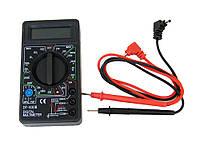 Компактный, точный цифровой мультиметр тестер DT-830B Качество!, Скидки