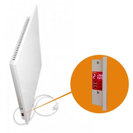 Керамический обогреватель Кам–Ин Eco Heat 475EWT | встроенный термостат | белый