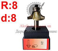 R8 d8 Фреза AКУЛА pobedit кромочная калевочная