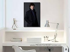 Картина 40х60 см Шерлок Холмс в плаще