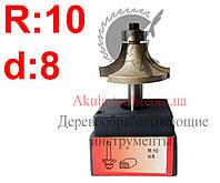 R10 d8 Фреза AКУЛА pobedit кромочная калевочная