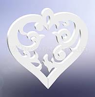 Сердце из пенопласта H25
