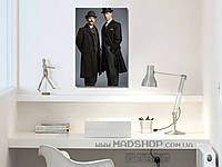 Картина 40х60 см Шерлок Холмси Ватсон