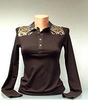 Кофточка женская Row Couture шоколадная