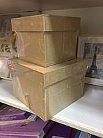 Заготовка для декорирования Коробка с крышкой 20*20 ,Украина