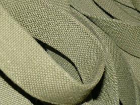 Лента ременная ХБ 40 мм техническая брезентовая (стропа хлопчатобумажная вожжевая), фото 2