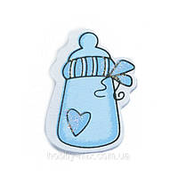 Наклейка BABY_blue (бутылочка)