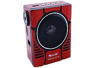Радиоприемник Колонка MP3 Golon RX 188 MIC RED