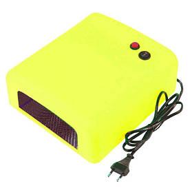 УФ-лампа, 36 Ватт, таймер 2 мин. Желтая