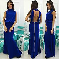Платье с открытой спиной, р.УН код 1428Я