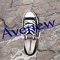 Кеды Converse (черно-белые низкие)