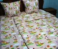 Комплект постельно белья, бязь