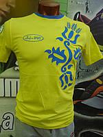 Футболка Украина  Bosco sport жёлтая 4031