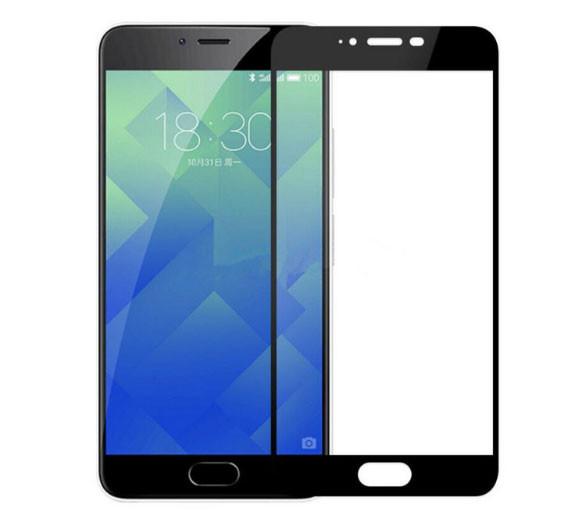 Full Cover защитное стекло для Meizu M5 - Black
