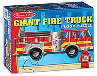 Напольный пазл Melissa & Doug - Большая пожарная машина