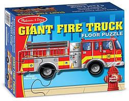 Напольный пазл Большая пожарная машина Melissa&Doug (MD10436)