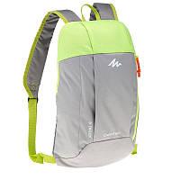 Рюкзак легкий, городской и велосипедный, 10 Л Салатовый с серым