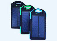 Power Bank Повербанк UKC 28000 mAh 2 в 1 Solar Led