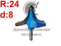 R24 d8 Фреза Karnasch  кромочная калевочная
