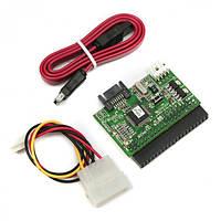 Viewcon VE 075 - Контроллер (переходник) IDE to SATA
