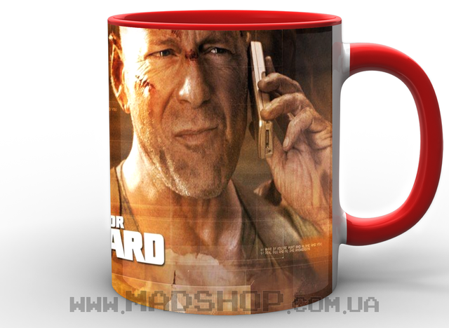 Кружка Крепкий орешек Die Hard