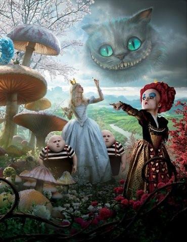 Футболки Алиса в Стране чудес Alice in Wonderland