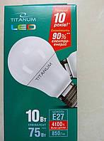 LED лампа Titanum(Videx) 10Вт Е27 4100к