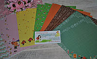 Набор бумаги ХИП-ХОП 15 х 15 см.